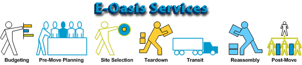 Data Center Relocation Services from E-Oasis